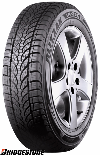 zimske pnevmatike bridgestone blizzak lm-32c 165/70r14c 89r