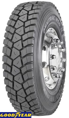 letne pnevmatike goodyear omnitrac msd ii 325/95r24 162/160k