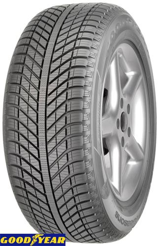 celoletne pnevmatike goodyear vector 4seasons suv 235/55r17 99v